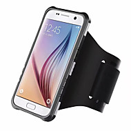 Til Samsung Galaxy S8 plus s8 cover dækker stødtæt armbånd sag solidfarve hard pc s7 kant s7