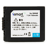 ismartdigi S006 7.2V 700mAh fényképezőgép akkumulátor Panasonic DMW-bma7 DMC-FZ7 FZ8 FZ35 FZ50 gk
