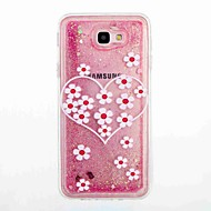 Samsung Galaxy j5 prime j5 (2016) áramló folyadék minta esetében hátlapot esetében virág puha TPU a J7 prime J7 (2016) j5 j3 j3 (2016)