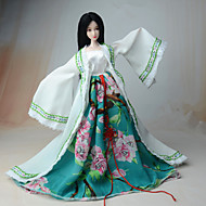 Ethnic Dress For Barbie Doll Coat Dress For Girl's Doll Toy