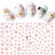 1 Nail Art Samoprzylepna Naklejki na panzokci 3D Kosmetyki do makijażu Nail Art Design