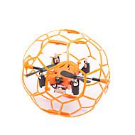 Drone M70 4 Kanal 6 Akse - LED-belysning Flyvning Med 360 Graders Flipp SveveFjernstyrt Quadkopter Fjernkontroll 1 Ladestasjon 1