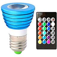 3W Verzonken ombouw 1 Krachtige LED 150 lm RGB V 1 stuks
