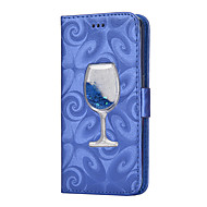 Til samsung galaxy s8 s8 plus dækning kortholder tegnebog skiftende sand tragt flip pu læder taske til Samsung Galaxy s7 s7 kant s6 s6