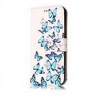 For Case Cover Wallet Card Holder with Stand Flip Full Body Case Butterfly Hard PU Leather for SamsungJ7 (2016) J7 J5 (2017) J5 (2016) J5