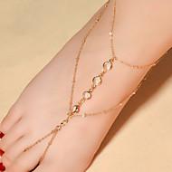Žene Kratka čarapa/Narukvice Kristal Moda kostim nakit Ispustiti Jewelry Za Dnevno Kauzalni