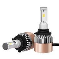 9006 36W / 2db led fényszóró készlet izzók chip 3600lm vezetett jármű reflektor izzók átalakító készlet 9V-32V cserélje halogén vagy HID