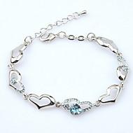 Damskie Bransoletki i łańcuszki na rękę Biżuteria Natura Modny Postarzane Ręcznie wykonane Kryształ Stop Oval Shape Biżuteria NaŚlub
