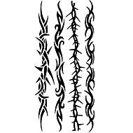 Tatoeagestickers Totem Series Patroon Onderrrug WaterproofDames Heren Tiener Tijdelijke tatoeage Tijdelijke tatoeages