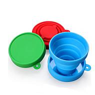 Kube / puchar Składany Jedzenie i picie w podróży na Składany Jedzenie i picie w podróży Czerwony Green Niebieski