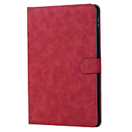 Voor appel ipad 9,7 inch 2017 case cover echt leer tabletten vouwmagneet flip cover voor ipad air 1 2 ipad 4 mini3 mini4