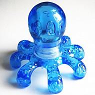1pcs hordozható kristálymasszázs kézi polip masszírozó véletlenszerű szín