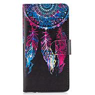 Til samsung galaxy s8 plus s7 kanten dække drømmemønster pu læder tasker til s6 kant plus s5 mini s4 s3