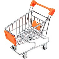 Home Furnishing Decorate Mini Shopping Cart Office Storage (Random color)