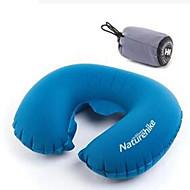 1pc Travel Pillow Foldable Portable Elastic for Travel Rest Polycarbonate-Blue Green Purple Gray Orange