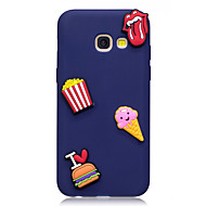 esetében Samsung Galaxy a3 (2017) a5 (2017) burkolata fagylalt mintát gyümölcs színe TPU anyag diy telefon esetében