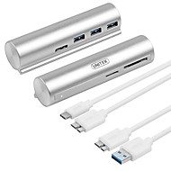 Unitek 3 포트 USB 허브 USB 3.0 철사와 함께 데이터 허브