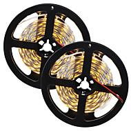 80 W LED-es szalagfények 7650-7750 lm DC12 V 10 m 300 led Meleg fehér Fehér