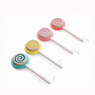 Fashion Plastics Millstone Lollipop Modelling Pedicure Tools Foot Stone 1PC(Color Random)