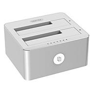 3.5 / 2.5 인치 sata3 usb3.0 하드웨어 상자 알루미늄 합금 12v 3a 전원 공급 장치