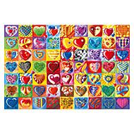 "Jigsaw Puzzles Jigsaw Puzzle Building Blocks DIY Toys 1 ¼"" Heart Cartoon Wooden"