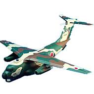 Palapelit DIY-setti 3D palapeli Rakennuspalikoita DIY lelut Lentokone Taistelija