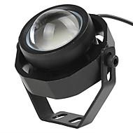 1 stk super lyse flash ledet bil tåge lys vandtæt 1000lm 10w drl ørn øje dagtimerne kører lys reverse backup park dc12-32v
