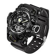 SANDA Heren Sporthorloge Militair horloge Slim horloge Modieus horloge Polshorloge Japans DigitaalLED Dubbele tijdzones Fitness trackers
