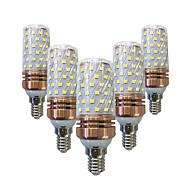15W LED-maïslampen T 78 SMD 2835 700-800 lm Warm wit Wit V 5 stuks