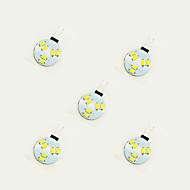 1W LED Φώτα με 2 pin 6 SMD 5630 75 lm Θερμό Λευκό Άσπρο DC 12 V 5 τμχ