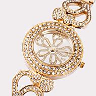 ASJ Damen Modeuhr Armbanduhr Japanisch Quartz Wasserdicht Großes Ziffernblatt Edelstahl Legierung Band Silber Gold Rotgold