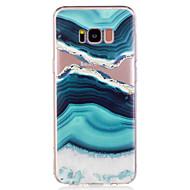 tok Samsung galaxy s8 plusz s8 nyári tengervíz márvány mintás puha TPU anyag telefon esetében s7 él s7 s6 él s6