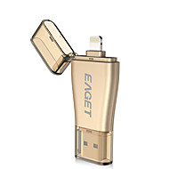 EAGET i50 32G OTG  USB3.0 Lightning Encrypted MFI Certified Flash Drive U Disk For iPhone iPad PC