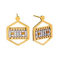 Women's Drop Earrings Jewelry Unique Design Hypoallergenic Handmade Bohemian Euramerican Movie Jewelry Stainless steel Geometric Jewelry