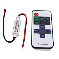 Hkv® inalámbrico mini led controlador de regulador 11key rf de control remoto para un solo color led tira luces cc 5-24v