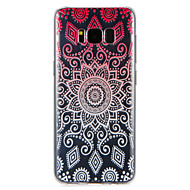 Case  for Samsung Galaxy S8 Plus S8 Cover Pattern Back Cover Case Geometric Pattern Soft TPU S7