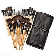 32pcs Makeup Brushes set Professional Powder/Foundation/Concealer/Blush brush Shadow/Eyeliner/Lip/Brow/Lashes Brush Makeup Kit Cosmetic Brushes