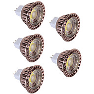 5pcs 5W LED Spotlight MR16 COB Spotlight Warm/Cool White Decorative LED lampada lamp Light DC12V