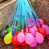 37 Pcs/set Single Balloon Filled Irrigation Water Injection Into Holiday Beach Toys For Children Water Balloons Color Random