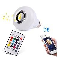 12W LED Έξυπνες Λάμπες 28 SMD 1000 lm RGB Bluetooth Με ροοστάτη Τηλεχειριζόμενο Διακοσμητικό AC100-240 V 1 τμχ
