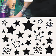 1 Tetkó matricák Mások Non Toxic Alsó hát WaterproofNői Férfi Felnőtt Tini flash-Tattoo ideiglenes tetoválás