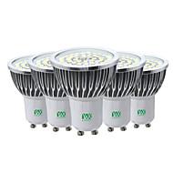 7W Lâmpadas de Foco de LED 48 SMD 2835 600-700 lm Branco Quente Branco Frio Branco Natural Decorativa V 5 pçs GU10