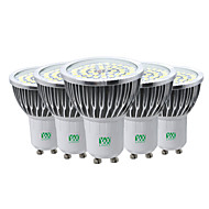 7W LED-spotlampen 48 SMD 2835 600-700 lm Warm wit Koel wit Natuurlijk wit Decoratief V 5 stuks GU10