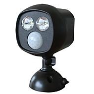 Doodda hw101s-2 lampă de 2 zile în aer liber infraroșu curte senzor de corp lumina a condus solar lumina de noapte impermeabil