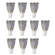 6W LED Σποτάκια MR16 1 COB 480 lm Θερμό Λευκό Άσπρο AC 220-240 V 10 τμχ GU10
