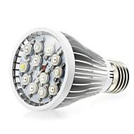 12W E27 / E14 / GU10 førte vokse lyser 12 high power LED (8red 2blue 1white 1uv) 290-330lm ac 85-265 v 1 stk
