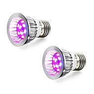 5W E14 GU10 E27 LED Büyüyen Işıklar 10 SMD 5730 165-190 lm Kırmızı Mavi V 2 parça