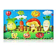 Puzzle Puzzle Cegiełki DIY Zabawki Inne Apple Tomato Słońce