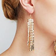 Damskie Kolczyki Ustaw sztuczna Diament Modny Osobiste euroamerykańskiej Film Biżuteria luksusowa biżuteria Wyrazista biżuteria Sexy Miedź