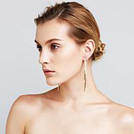 Damskie Kolczyki Ustaw sztuczna Diament Modny euroamerykańskiej Film Biżuteria luksusowa biżuteria Wyrazista biżuteria Sexy MiedźLine